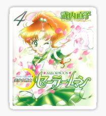 Sailor Jupiter Manga Cover Sticker