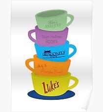 Mugs, Gilmore Girls Poster