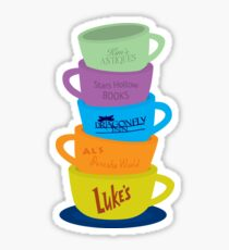 Mugs, Gilmore Girls Sticker