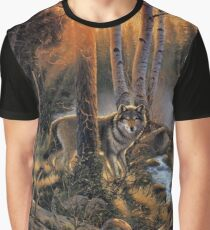 Forest Wolves Graphic T-Shirt