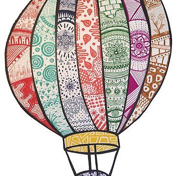 globo aerostático de MariaSandia