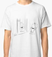 Calvin in the Mirror Classic T-Shirt