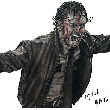 Rick Grimes by nick1213mc