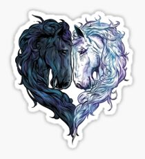Love Horses Sticker
