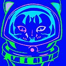 MULTI COLOR SPACE CAT SMARTPHONE CASE (Graffiti) by leethompson