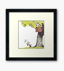 The Tree House Framed Print