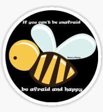 Bee Happy - Henry Cheng Sticker