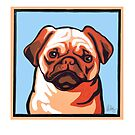 PUG DOG by Pat McNeely