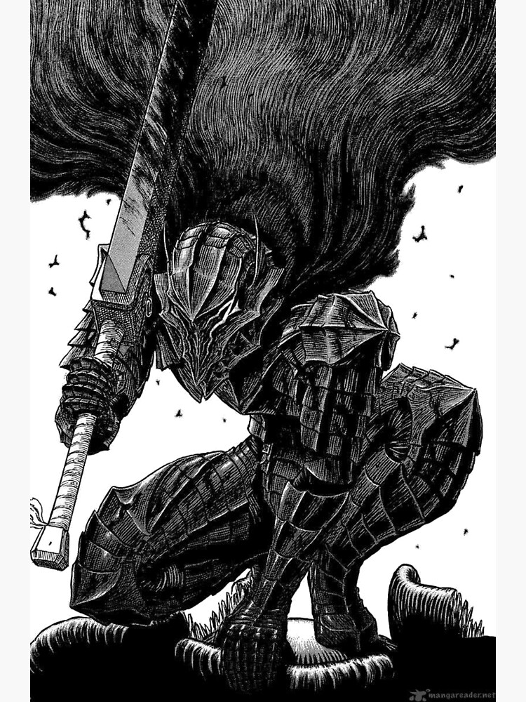 Guts In Berserker Armor Greeting Card