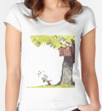 The Tree House Women's Fitted Scoop T-Shirt