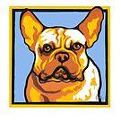 FRENCHIE BULLDOG DOG by Pat McNeely