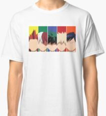 Boku No Hero Male Members Classic T-Shirt