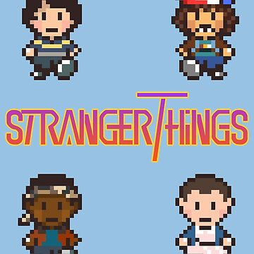 Earthbound x Stranger Things by -Aye