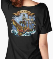 Deck Hand ~ Old School Tattoo Style ~ T Shirt Women's Relaxed Fit T-Shirt