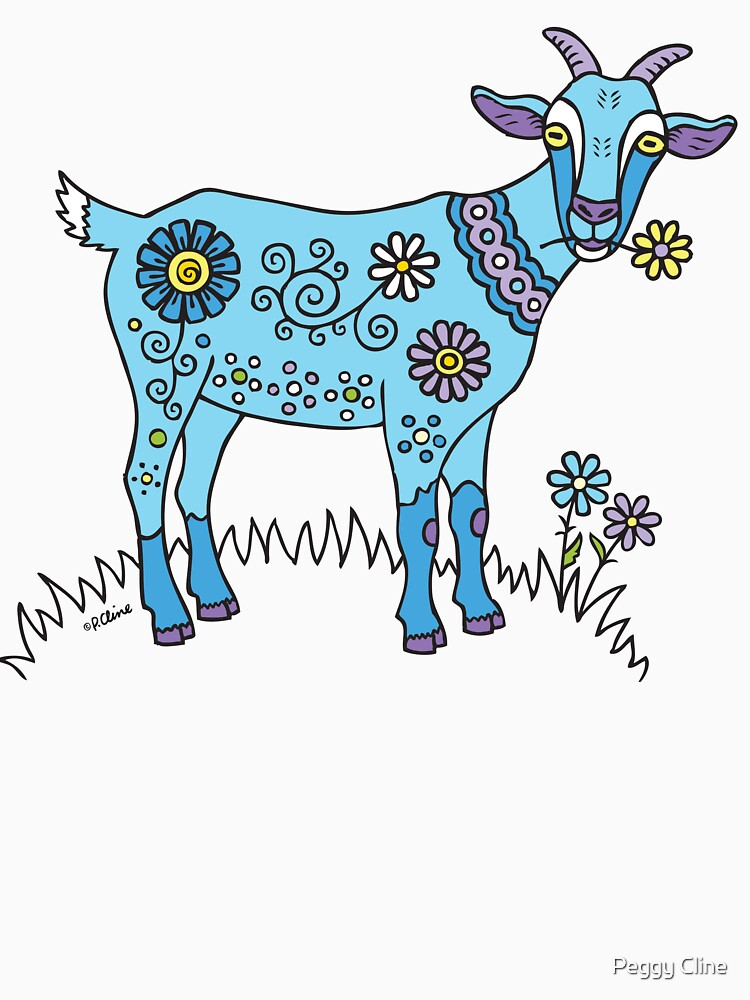 Blue Goat | Unisex T-Shirt