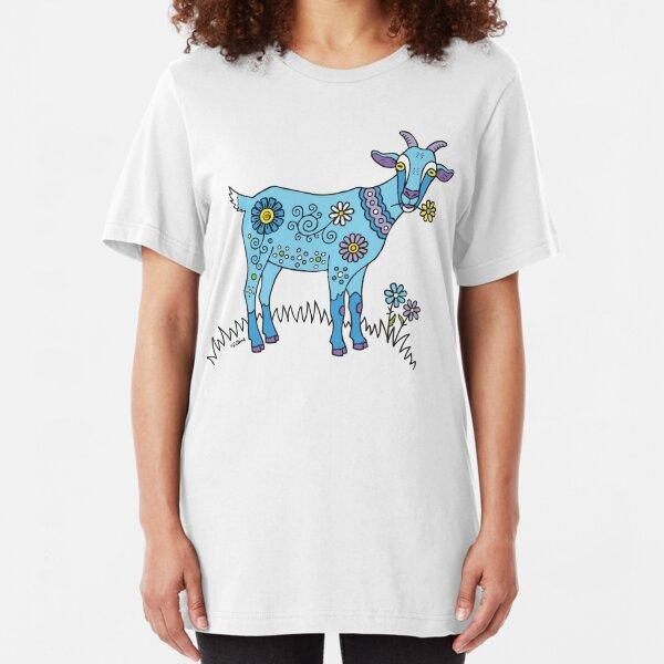Blue Goat Slim Fit T-Shirt