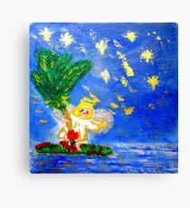 Angel in the Tropics Designer Art Decor & Gifts Canvas Print