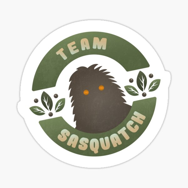 TEAM SASQUATCH Sticker