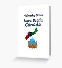 Melmerby Beach Nova Scotia Canada Greeting Card