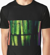 Green macro Graphic T-Shirt