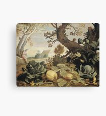 Abraham Bloemaert - Landscape With Fruits And Vegetables In The Foreground Canvas Print