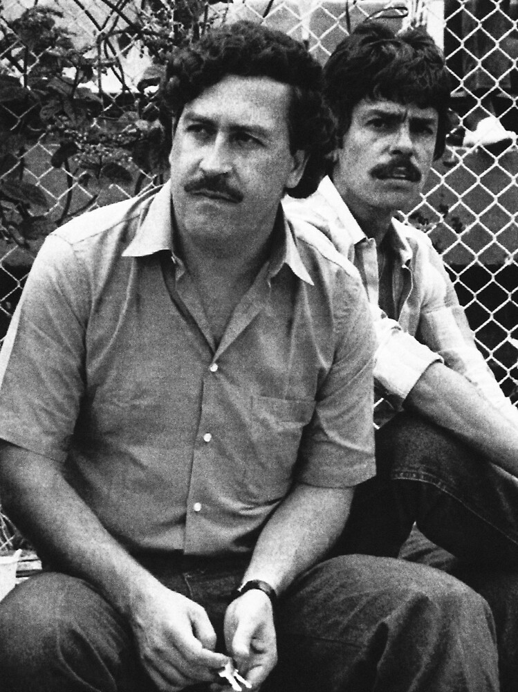 pablo escobar and cousin picture old by benniboom. Black Bedroom Furniture Sets. Home Design Ideas