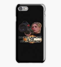Buffy - Rocket Launcher Is The New Crossbow iPhone Case/Skin