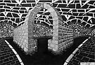 263 - STONE ARCH - DAVE EDWARDS - INK - 2017 by BLYTHART