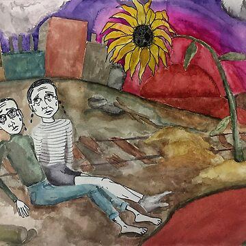 Sunflower Sutra by emmapinezich