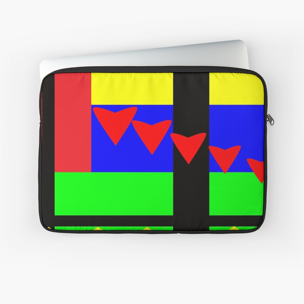 Fun with Color by Julie Everhart Laptop Sleeve