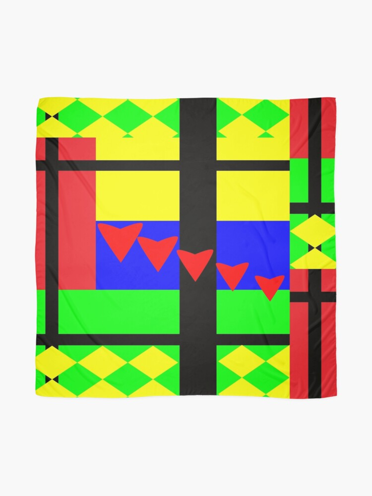 Alternate view of Fun with Color by Julie Everhart Scarf
