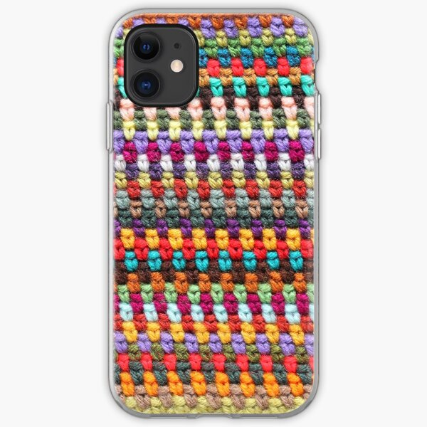 Crochet Afghan Pattern iPhone Soft Case
