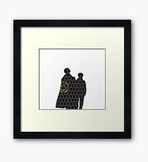 Sherlock Simple  Framed Print
