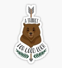 Trinket for luck Sticker