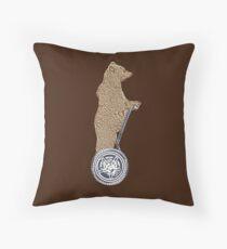 Bear Mobility Throw Pillow