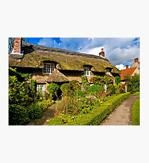 Country Cottage - North Yorkshire. Photographic Print