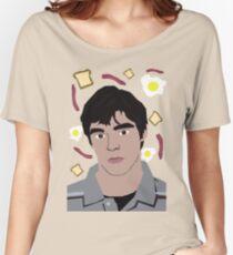 Walt Jr Loves Breakfast Women's Relaxed Fit T-Shirt