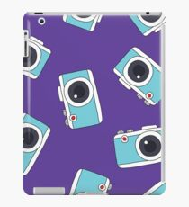 photocamera doodle pattern iPad Case/Skin