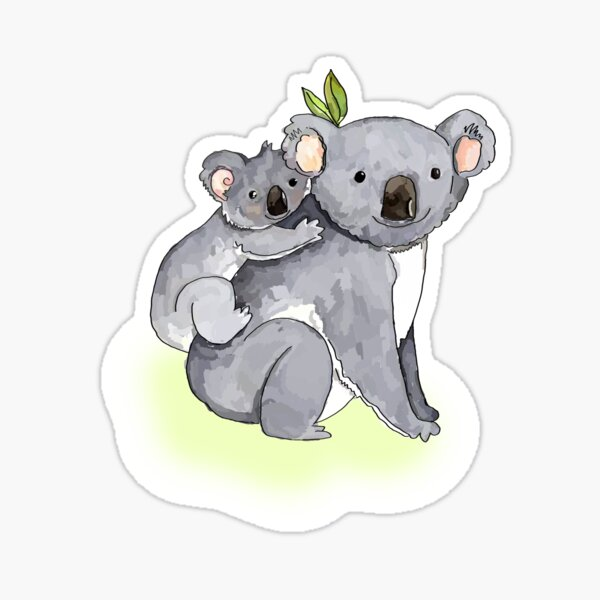 KOALA BUDDIES Sticker