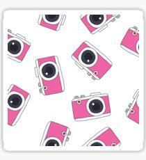 photocamera doodle pattern Sticker
