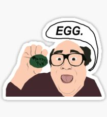 Egg. Sticker