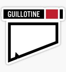 Guillotine - BJJ Sticker
