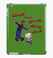 Gus and Hector iPad Case/Skin