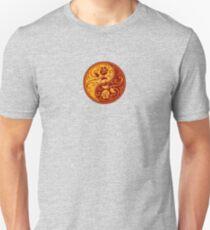 Red and Yellow Yin Yang Roses T-Shirt