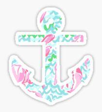 Lilly Lobster Anchor Sticker
