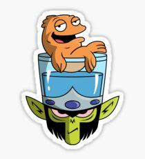 Mojo Fish Bowl Sticker