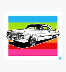 LOWRIDERS & CANDY PAINT Photographic Print