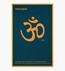 The Om - Hinduism Photographic Print