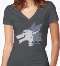 Sexy Sergal Association! Women's Fitted V-Neck T-Shirt