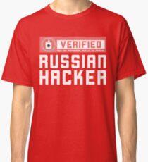 CIA VERIFIED RUSSIAN HACKER Classic T-Shirt